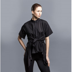Black Squared m/c Blouse